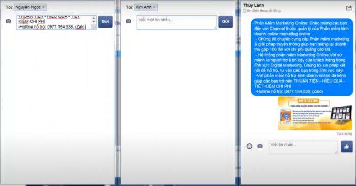 Ninja Auto Post Client tự động chạy auuto spam - inbox