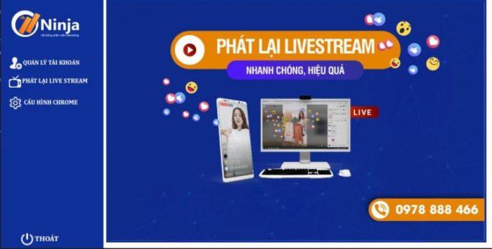Phát lại Livestream cực kì tiện ích cho người kinh doanh Online
